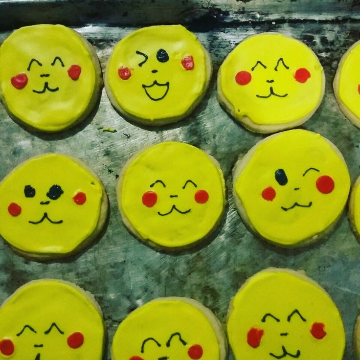 Pikachu pokemon galleta