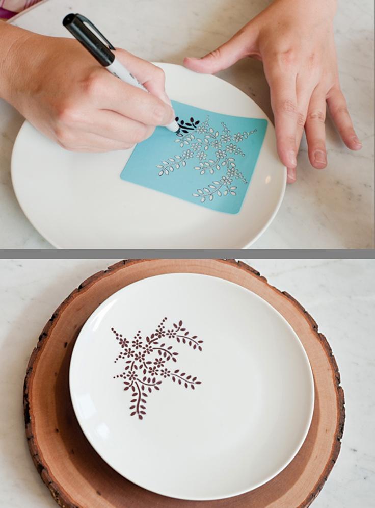 Enamel Oil Based Paint For Ceramic Plates