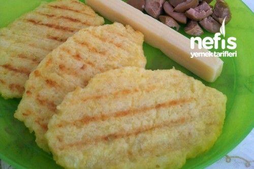 İkizlerimin Patates Tostlu Kahvaltısı Tarifi
