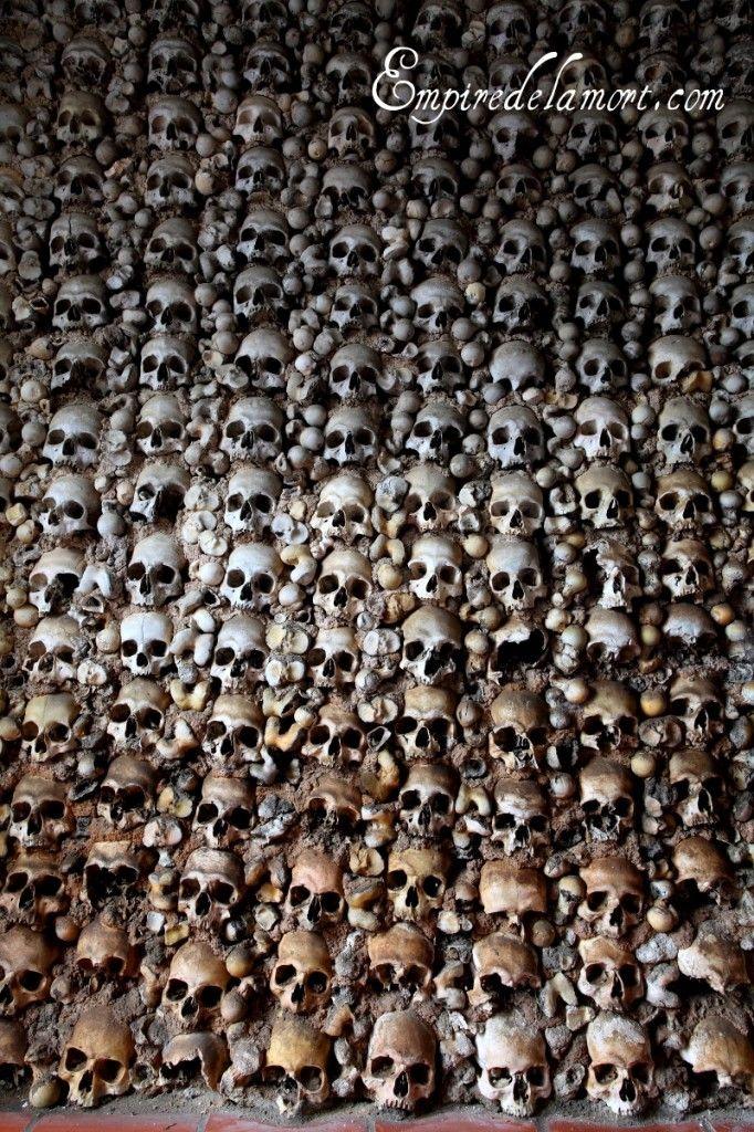 Monforte, Portugal bone chapel (Capela dos Ossos)