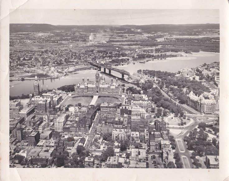 https://flic.kr/p/koEd17 | Aerial from the 1940's | Ottawa, ON