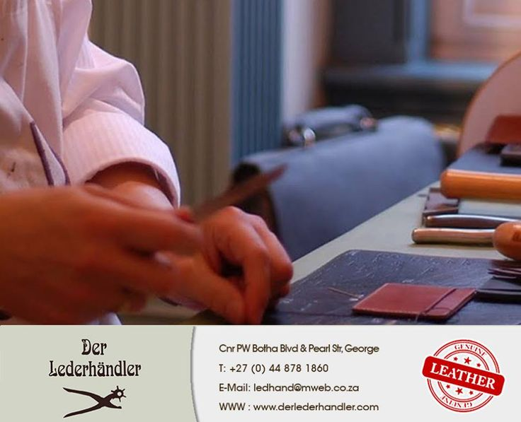 From humble beginnings in a garage in Pretoria in 1981, Der Lederhändler has grown into a well established modern factory in George that manufactures rustic and elegant genuine handcmade leather products To read more - click here: http://apost.link/5C7. #Derlederhandler #HandMade #Leather