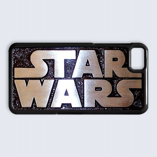 cool star wars logo Blackberry Z10 case $16.89 #etsy #Accessories #Case #cover #CellPhone #BlackBerryZ10 #BlackBerryZ10case #BlackBerry #StarWars #HanSolo #R2D2 #DarthVader #obiwanstatue