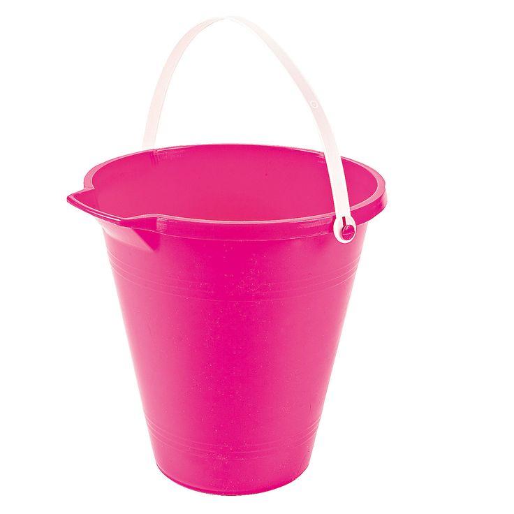 Pink Sand Bucket - OrientalTrading.com