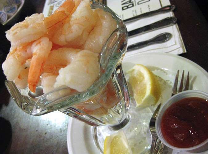 Before hitting the buffet, save a little room for a classic casino treat, cold shrimp dipped in cock... - Jason Lam/Flickr