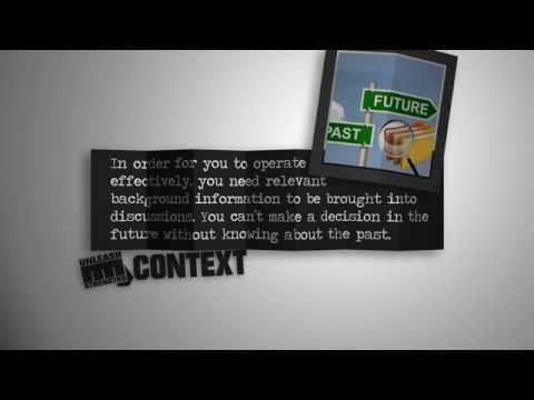UnleashStrengths.com presents CONTEXT - YouTube   Strengths Teaching & Coaching www.rockyourstrengths.com