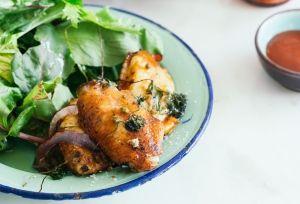 Barbekü soslu enfes tavuk kanatları