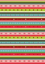 Free printable scrapbook paper for Christmas