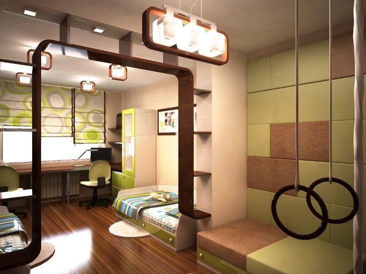 Дизайн детской комнаты | Фото детской для девочки и для мальчика | Pinedesign
