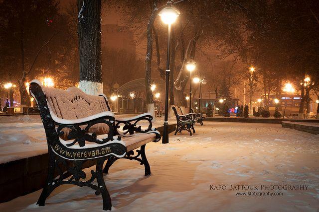 Winter in Yerevan Երևանյան ձմեռ L'hiver d'Erevan