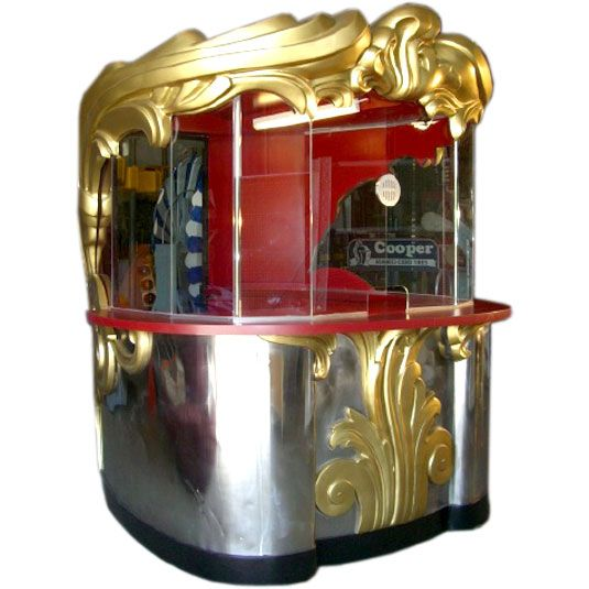 California Cool: 1930's Art Deco theater ticket booth 'Bar'