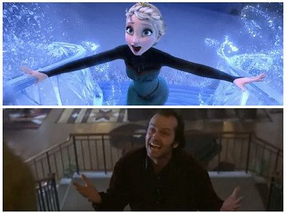 "This Fan Has A Wild Theory That ""Frozen"" And ""The Shining"" Are The Same Movie"