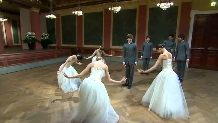 2011 New Years Day Vienna Concert: Strauss - Blue Danube Waltz (01Jan11)