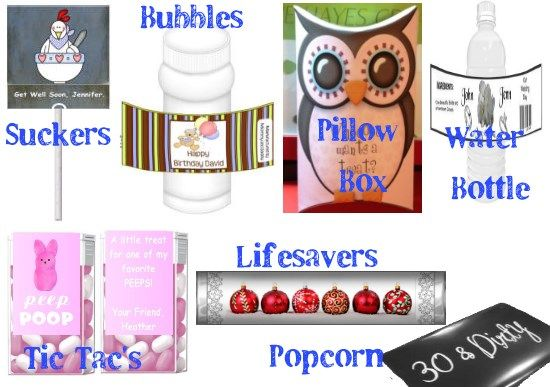 17 best images about personalized gift ideas on pinterest for Wrap candy templates