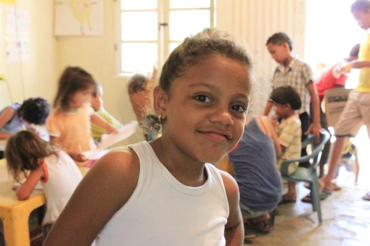 School days at Fundacion Mariposis Amarillas