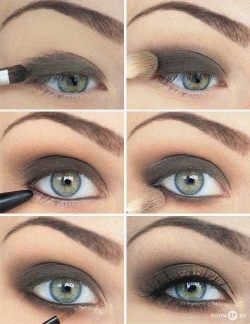 Then apply a tiny bit of white eye shadow at the inner fringe of your upper eyelids before using the grey eye shadow. You can also experiment with other shades you like or have a try with the shimmery dust. Finally, finish this look with a black eyeliner & mascara. Related PostsTop Rated Eye Shadow …