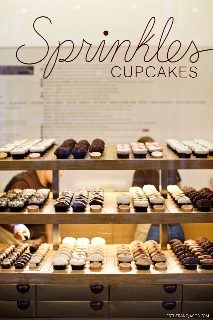 Sprinkles Las Vegas   Best Desserts in Las Vegas.  Had a chocolate peanut butter cupcake. It was sooooo goooood!