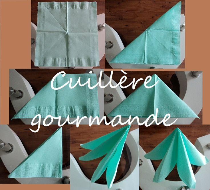 32 best images about pliage de serviettes on pinterest creative napkin folding and folding. Black Bedroom Furniture Sets. Home Design Ideas