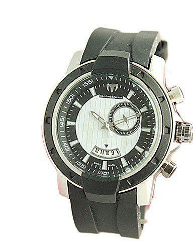 moda sportiva orologi unghie articolo terra con la funzione di guardia gli uomini di modo calendario , white-black