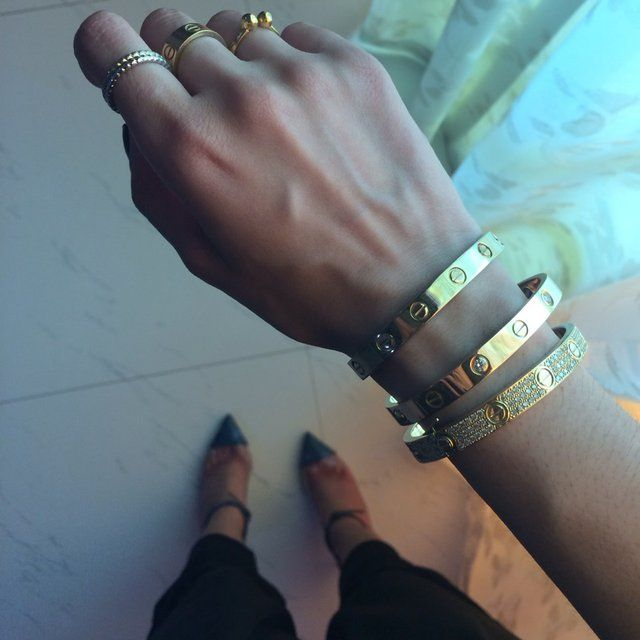 Bracelet 3 or cartier prix
