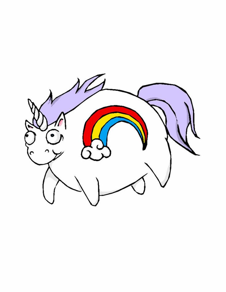 Cubby Baby Unicorn Coloring Pages