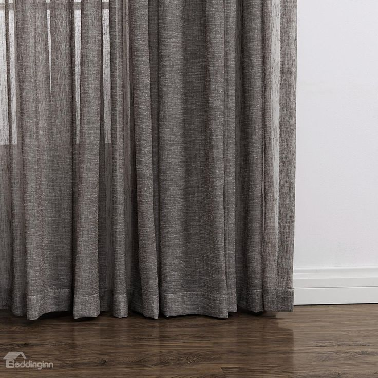sheer linen curtains s track - Google Search