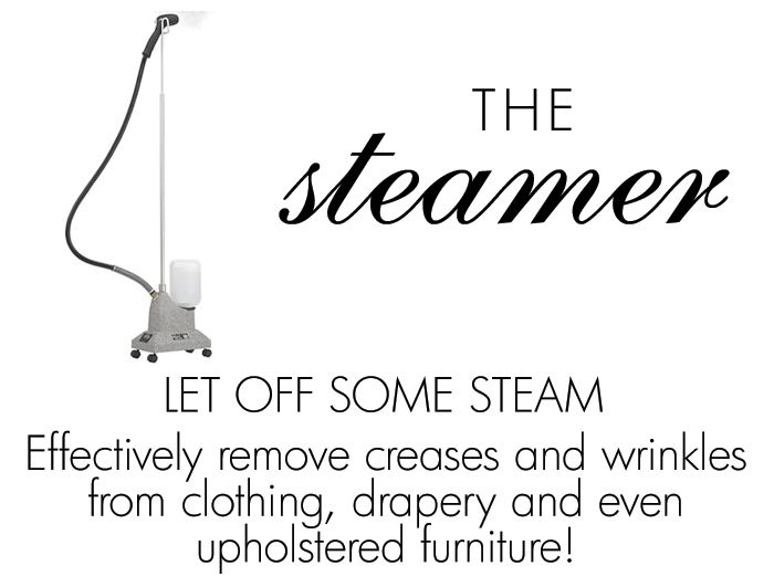 Things We Love : Laundry Room Essentials THE STEAMER