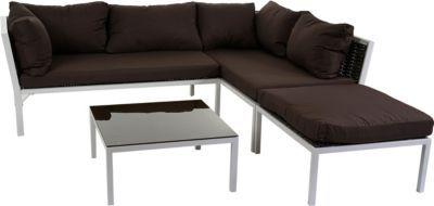 heute-wohnen Poly-Rattan Sofa-Garnitur Delphi, Sitzgruppe Lounge-Set, Alu Jetzt bestellen unter: https://moebel.ladendirekt.de/garten/gartenmoebel/loungemoebel-garten/?uid=5922db10-1d38-5a70-b0ee-2ad4c4bc3a15&utm_source=pinterest&utm_medium=pin&utm_campaign=boards #loungemoebelgarten #garten #gartenmoebel