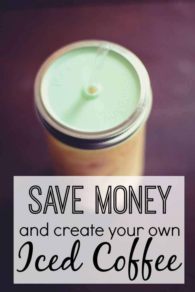 Save money by creating your iced coffee at home.  www.thedempsterlogbook.com