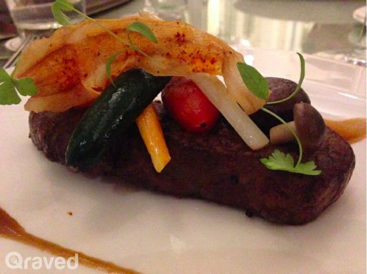 Grilled Wagyu Beef Sirloin (Mb9+) at Chateau Blanc
