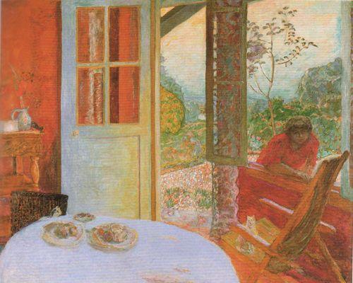 Pierre Bonnard, Sala da pranzo in campagna, 1913, The Minneapolis Institute of Arts, Minneapolis