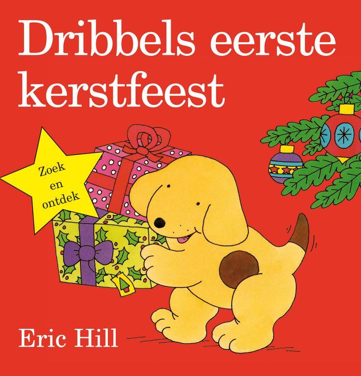 Een hondje helpt zijn moeder met de voorbereidingen voor het kerstfeest en pakt op kerstochtend zijn cadeautjes uit. Hardkartonnen prentenboekje met vrolijk gekleurde, beweegbare illustraties. Vanaf ca. 2 jaar.