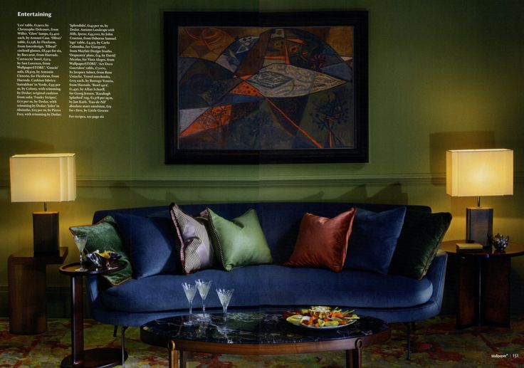 FLEXFORM GUSCIO #sofa designed by Antonio Citterio on @wallpapermag december issue.  Guscio | Products | bit.ly/PR2jUE