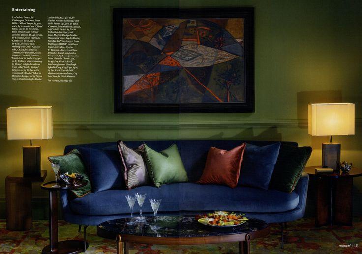 FLEXFORM GUSCIO #sofa designed by Antonio Citterio on @wallpapermag december issue.  Guscio | Products | bit.ly/PR2jUE