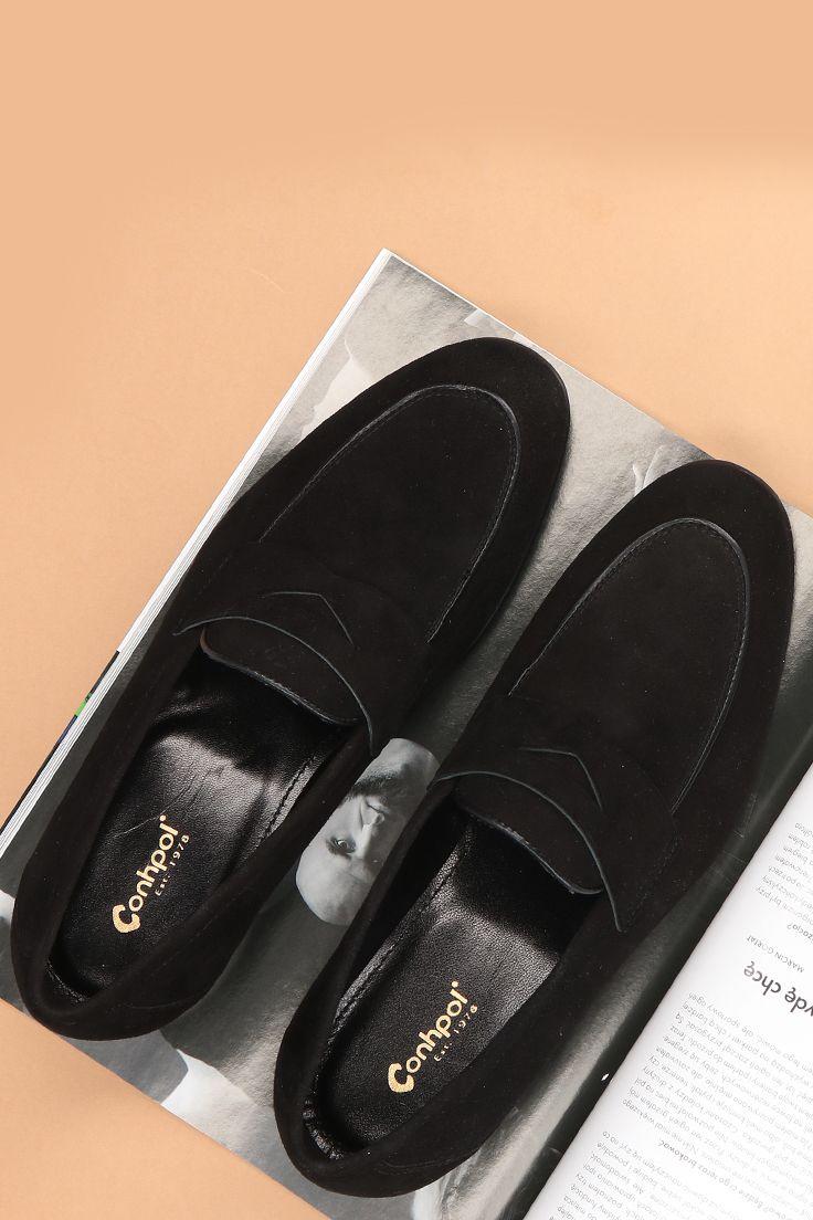 Mokasyny Meskie Skorzane Czarne Alvaro Sd0194 03 Dress Shoes Men Loafers Men Oxford Shoes