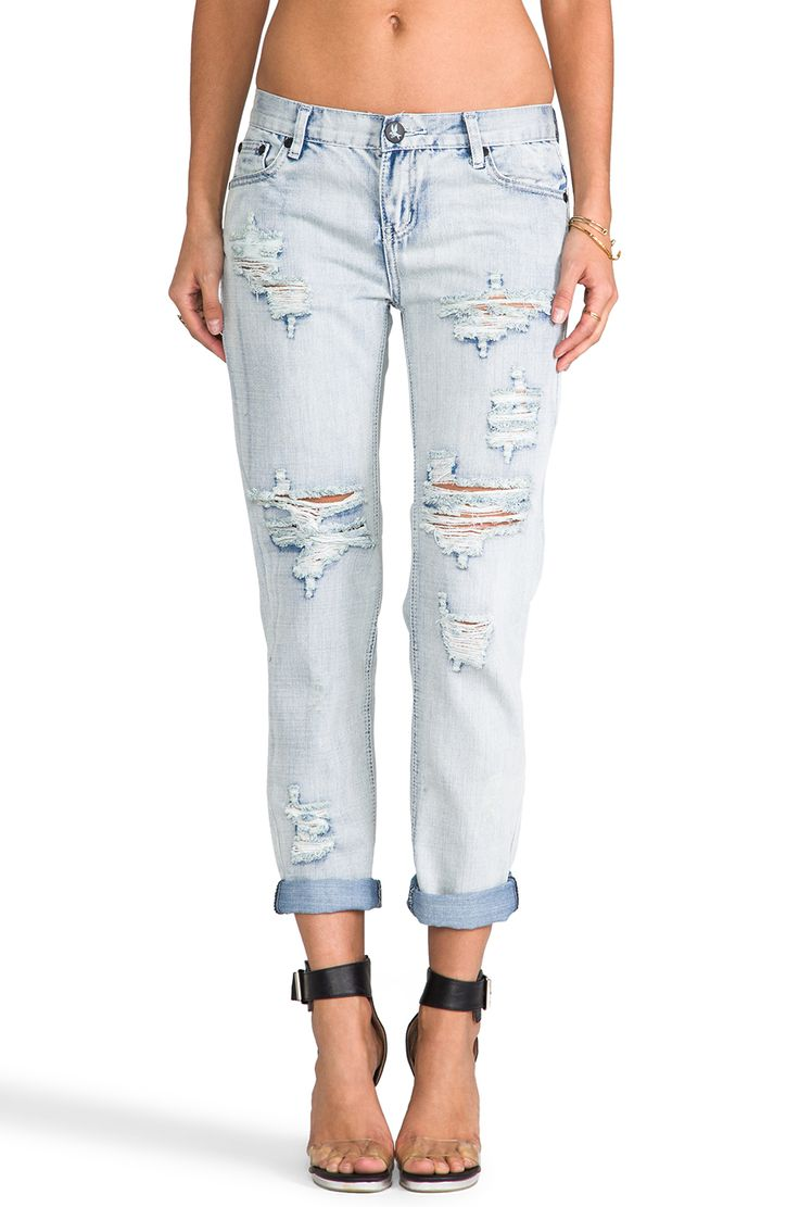 One Teaspoon Awesome Baggies Jeans in Fiasco from REVOLVEclothing