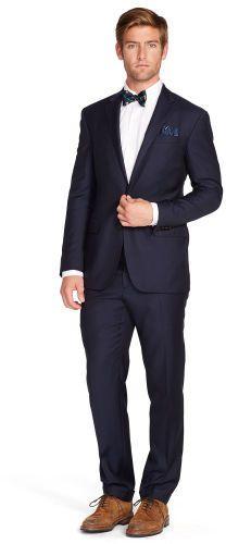 $995, Navy Suit: Polo Ralph Lauren Were Sorry. Sold by Ralph Lauren. Click for more info: https://lookastic.com/men/shop_items/60229/redirect