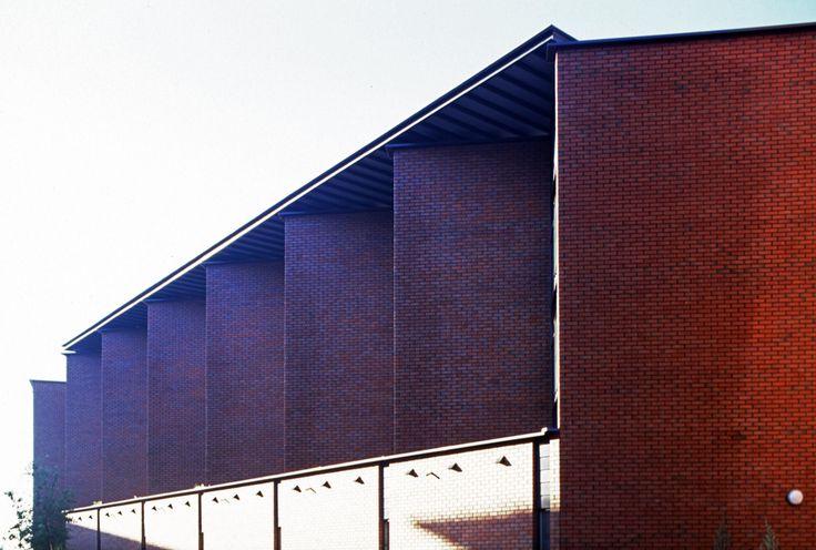 Student recidence building in Helsinki, Arabia - Helin & Co Architects, 2002