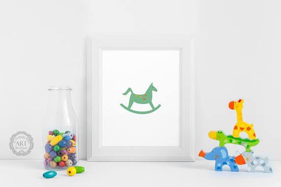 https://www.etsy.com/ca/listing/548250391/rocking-horse-nursery-wall-art-print