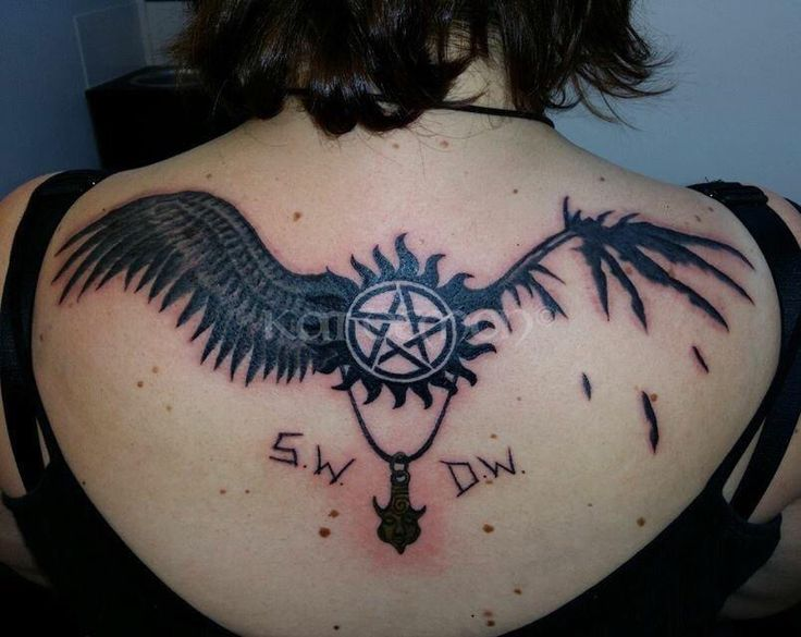 S w d w tattoo supernatural fanart pinterest for Dean and sams tattoo
