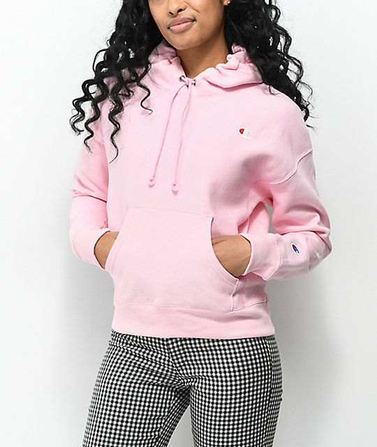 1ac78903c5cad Champion Reverse Weave Candy Pink Hoodie in 2019