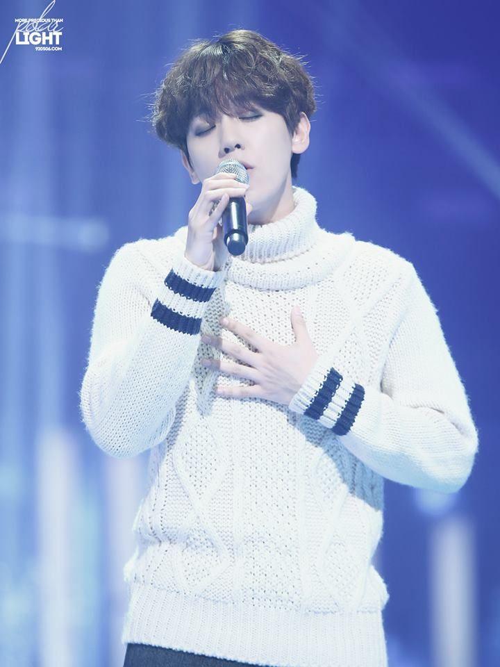 141219 Baekhyun at Music Bank Year End Speciall