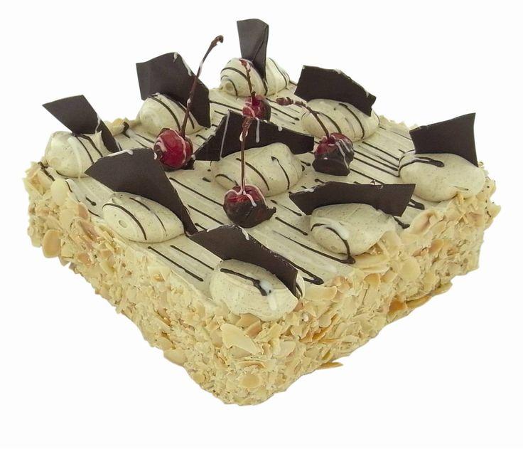Hazelnut Torta - layers of hazelnut meringue and coffee buttercream!