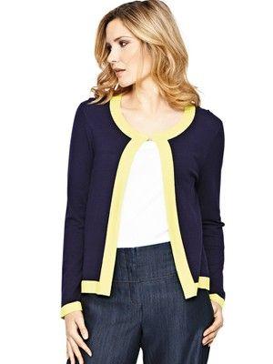 Tipped Short Cardigan, http://www.isme.com/savoir-tipped-short-cardigan/1337916935.prd