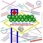 """Have you ever tracked a dollar bill on """"Where's George?"""""""