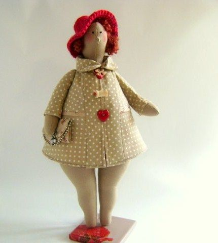Tilda bbw - sew up the joint - May 31 2013 - Tilda doll. All about Tilda, patterns, workshops.