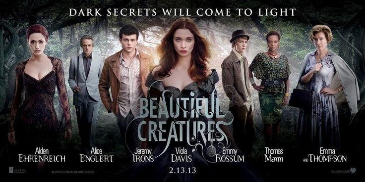 Beautiful Creatures Cast Banner