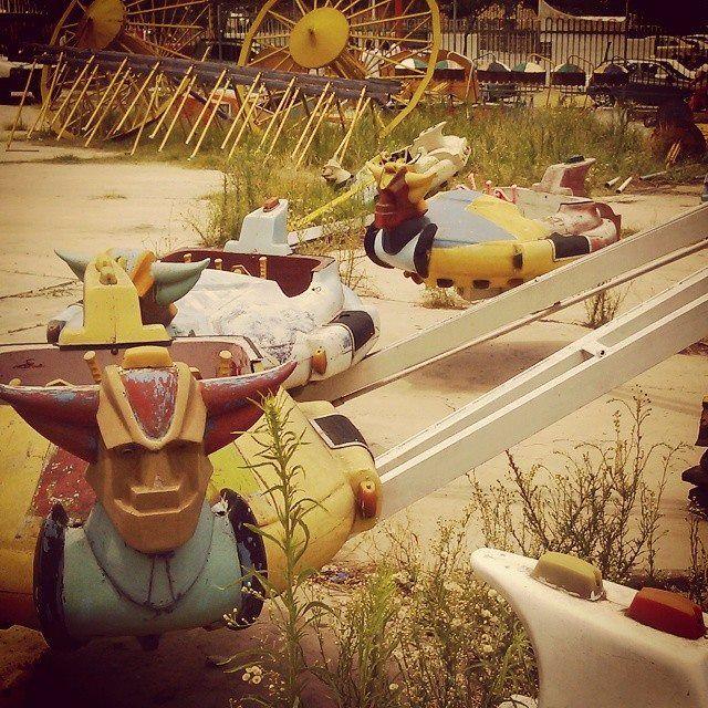 #parque de diversiones! #abandonado