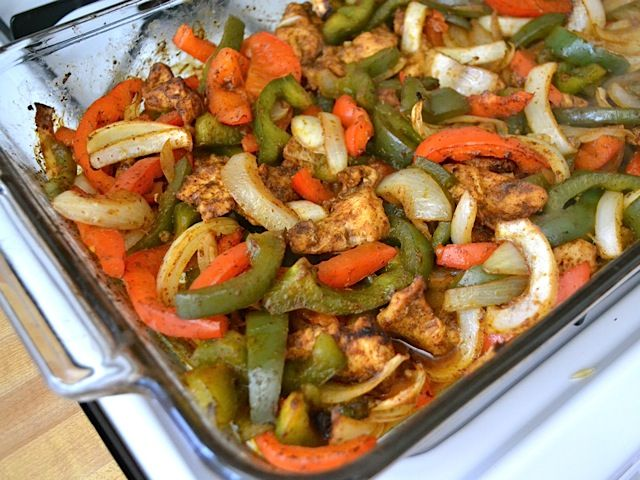 roast fajitas I have made this with chicken, beef and shrimp. If using shrimp, I set aside a bit of the seasoning and season the shrimp, but don't add it until the last 10 minutes or so of the cooking time. Roz