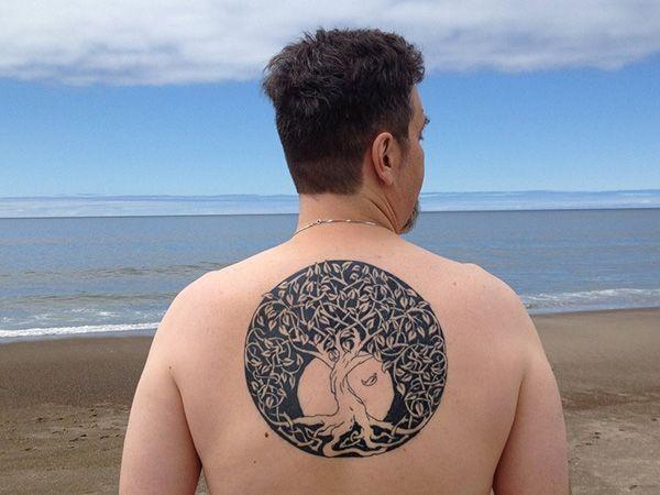 celtic tree of life inked 25 Terrific Celtic Tree of Life Tattoo Ideas